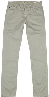 Citizens of Humanity Bowery light green slim-leg chinos