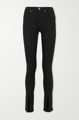 Veronica Beard Kate High-rise Skinny Jeans - Black