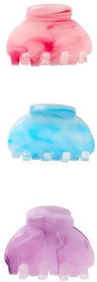 Miss Shop 4 Pack Tye Dye Butterfly Clips