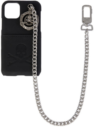 Mastermind Japan Black C2H4 Edition Chain iPhone 11 Pro Case