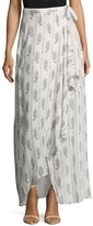 The Jetset Diaries Women's Hayworth Printed Maxi Skirt