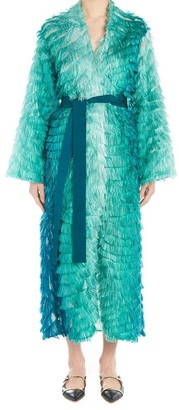 F.R.S For Restless Sleepers Textured Fringed Belted Dress