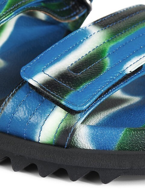 Thumbnail for your product : Dries Van Noten Graphic Slides