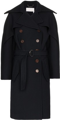 Chloé Belted wool trench coat