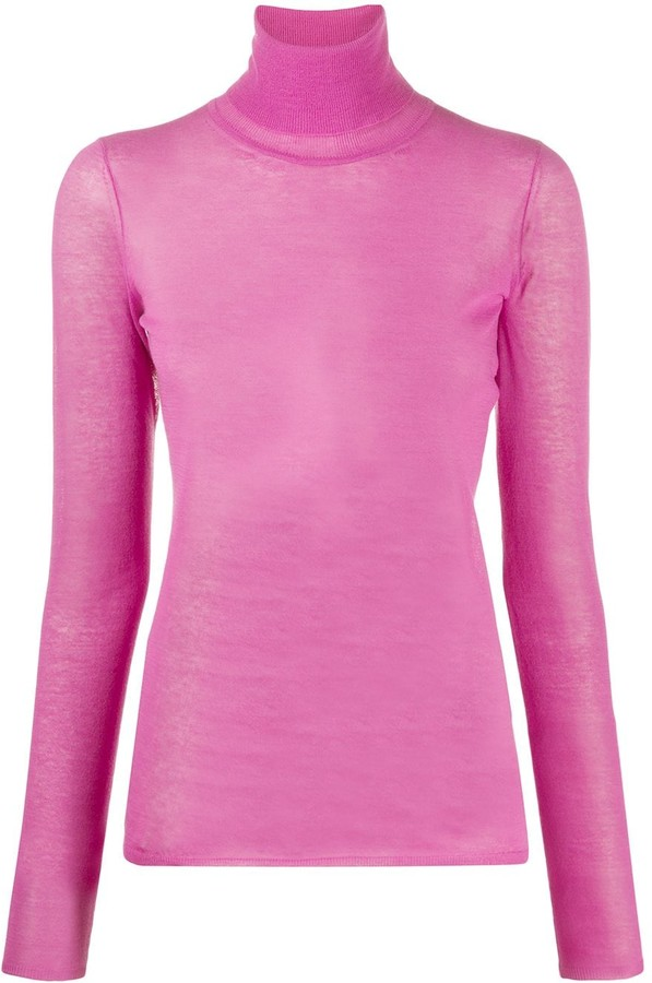 Isabel Marant Long-Sleeved Roll-Neck Top