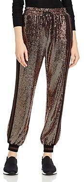 Pam & Gela Rose Mirror Ball Jogger Pants