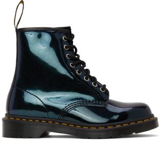 Dr. Martens Blue Iridescent 1460 Boots