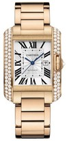 Cartier Tank Anglaise Medium wt100003 18K Rose Gold Watch