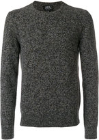 A.P.C. crew neck jumper