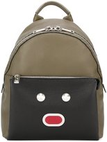 Fendi 'Selleria' backpack - men - Calf Leather/Polyester/Metallic Fibre - One Size