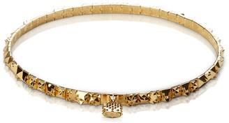 Kasun Lost Pilgrim Gold Choker Necklace