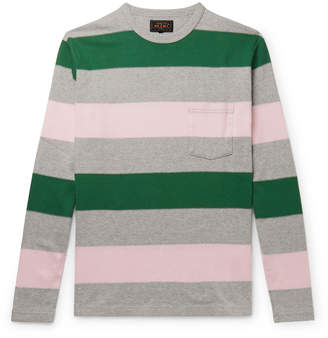 Beams Striped Cotton T-Shirt