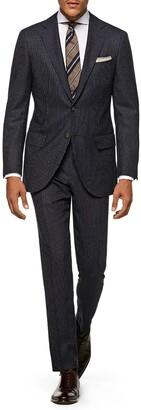 Suitsupply Pinstripe Wool Suit