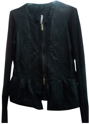 Imperial Star Black Leather Leather jackets