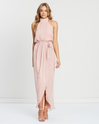 Esther Luxe Amaryllis Maxi Dress