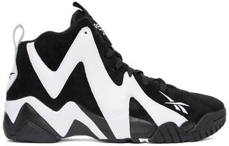 Reebok Classics Black and White Kamikaze II Sneakers