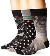 Bugatchi Men's Three-Pack Don Sock