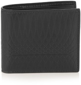 Paul Smith Shoes & Accessories No.9 Bi-fold Embossed-leather Wallet