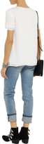 Alexander Wang Silk-georgette T-shirt
