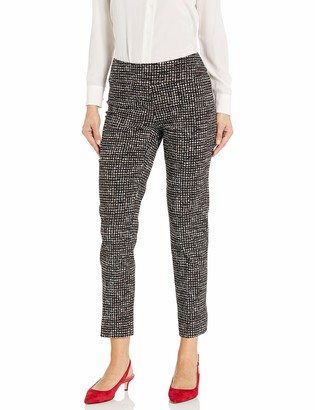 Nic+Zoe Women's Abstract Tweed WONDERSTRETCH Pant