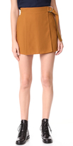 Carven Draped Shorts