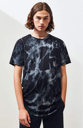 Proenza Schouler Basics Basics Marbe Tie-Dyed Scallop T-Shirt