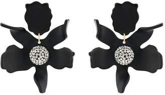 Lele Sadoughi embellished flower earrings