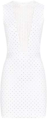 Balmain Studded Mini Dress