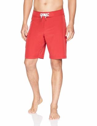 "Goodthreads Amazon Brand Men's 9"" Inseam Swim Boardshort"