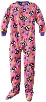 Komar Kids Girls 7-16 Star With Penguin Blanket Sleeper