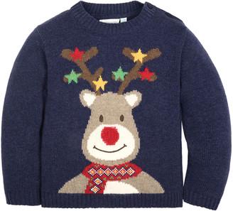 Jo-Jo Jojo Maman Bebe Reindeer Jumper