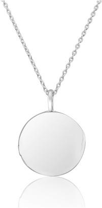 Auree Jewellery Limerston Sterling Silver Locket Necklace