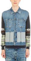 Maison Margiela Navajo Slim Blue Denim Jacket