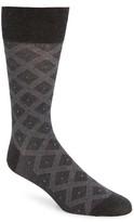 Men's Big & Tall John W. Nordstrom Diamond Socks