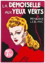 Olympia Le-Tan La Demoiselle Aux Yeux Verts book clutch