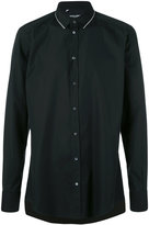 Dolce & Gabbana contrast stitch trim collar shirt