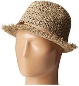 San Diego Hat Company SGF2017 Open Weave Seagrass Fedora
