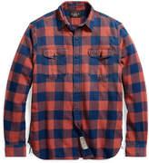 Ralph Lauren Plaid Cotton-Linen Workshirt