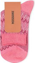 Missoni Zigzag short ankle socks