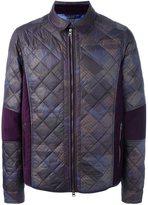 Etro zipped padded jacket