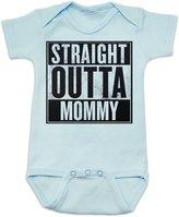 Vulgar Baby Straight Outta Mommy Onesie (0-3 MO, )
