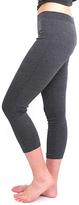 Magid Dark Gray Capri Leggings - Plus Too