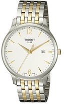 Tissot Men's T0636102203700 Tradition Analog Display Swiss Quartz Two Tone Watch