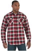 Wrangler Men's Originals Quilted Flannel Shirt