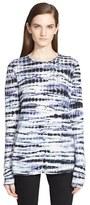 Proenza Schouler Women's Tie Dye Tissue Jersey Long Sleeve Tee