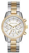Michael Kors Women's Ritz Chronograph Bracelet Watch, 37Mm