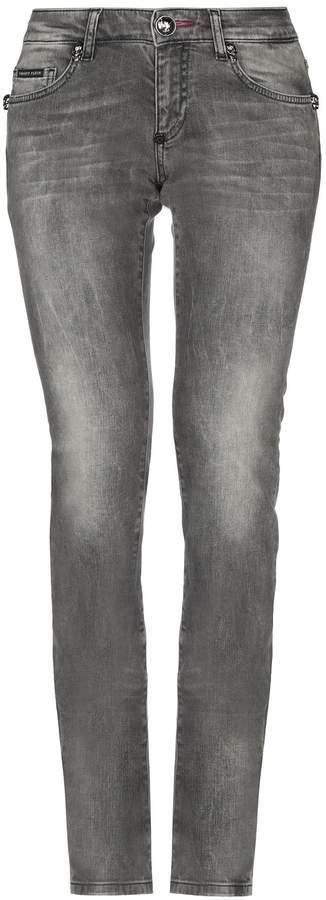 Philipp Plein Denim pants - Item 42704455KN