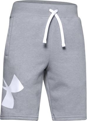Under Armour Boys' UA Rival Fleece Logo Shorts
