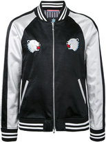 GUILD PRIME bear patches bomber jacket