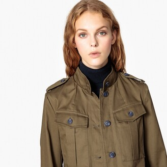 La Redoute Collections Cotton Utility Jacket with Pockets